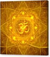 Authentic Om  Canvas Print