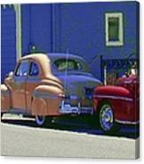 Auto Oldies Canvas Print