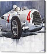 Auto Union C Type 1937 Monaco Gp Hans Stuck Canvas Print