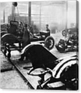 Automobile Manufacturing Canvas Print