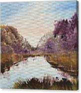 Autum Forrest Canvas Print
