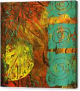Autumen Abstract Canvas Print