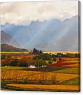 Autumn - Hex-river Valley Canvas Print