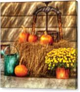 Autumn - Pumpkin - A Still Life With Pumpkins Canvas Print