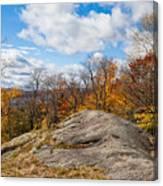 Autumn Above Eagle Bay Ny Canvas Print