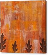 Autumn Abstract Art  Canvas Print