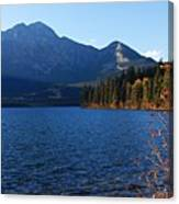 Autumn Afternoon On Pyramid Lake Canvas Print