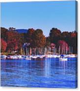 Autumn Along Lake Candlewood - Connecticut Canvas Print