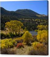 Autumn Along The Rio Grande Canvas Print