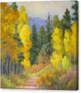 Autumn Ambience Canvas Print