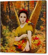 Autumn Angels Canvas Print