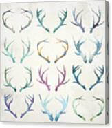 Autumn Antlers Canvas Print