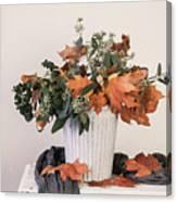 Autumn Arrangement Canvas Print