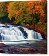 Autumn At Buttermilk Falls Canvas Print