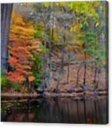 Autumn At Echo Bridge Canvas Print