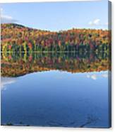 Autumn At Heart Lake Canvas Print