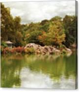 Autumn At Hernshead Canvas Print