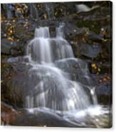 Autumn At Laurel Falls Canvas Print