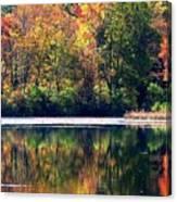 Autumn At Laurel Lake Canvas Print