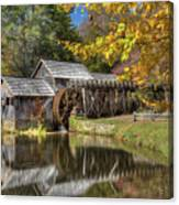 Autumn At Mabry Mill Canvas Print