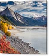 Autumn At Medicine Lake Canvas Print