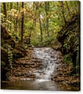 Autumn At Mill Creek Canvas Print