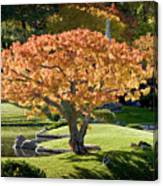 Autumn At Nikka Yuko Canvas Print