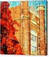Autumn At Nwmsu Canvas Print
