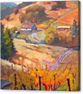 Autumn At Silvan Ridge Canvas Print