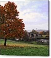 Autumn At Stirling Bridge Canvas Print
