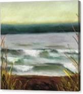 Autumn At The Lake Canvas Print