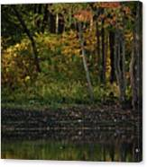 Autumn At Wrights Pond Canvas Print