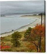 Autumn Beachcombers  Canvas Print