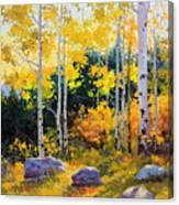 Autumn beauty of Sangre de Cristo mountain Canvas Print