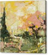Autumn Blast Canvas Print