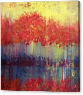 Autumn Bleed Canvas Print