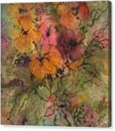 Autumn Blooms Canvas Print