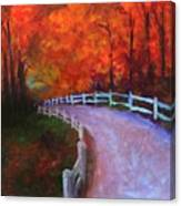 Autumn Bridleway Canvas Print