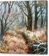 Autumn Brush Canvas Print