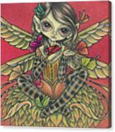 Autumn Butterflies Canvas Print
