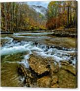 Autumn Cherry Falls Elk River Canvas Print