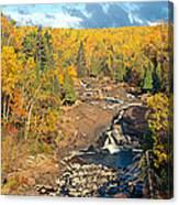 Autumn Color Along Beaver River Canvas Print