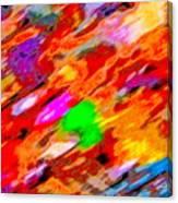 Autumn Color Blurs 144 Canvas Print