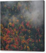 Autumn Colors In The Clouds Canvas Print