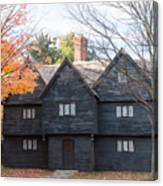 Autumn Comes To The Witch House Canvas Print
