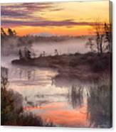 Autumn Dawning Canvas Print