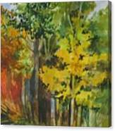 Autumn Day Canvas Print