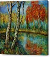 Autumn Day. Canvas Print