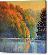 Autumn Day Rising Canvas Print