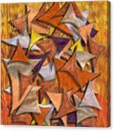 Autumn Deltas Canvas Print